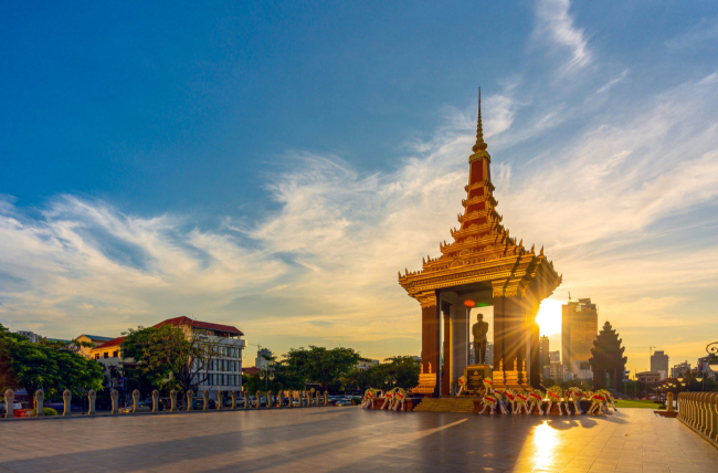 Phnom Penh, Cambodia, Southeast Asia Tour